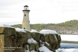 Winter Lake Lighthouse by Sonia's View