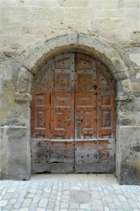 Ancient Oval Door - Avignon SAM_9341 (Small)
